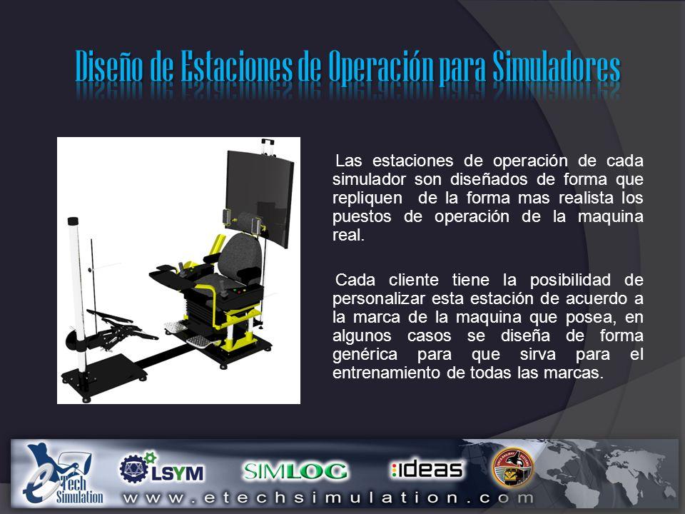 Diseño de Estaciones de Operación para Simuladores