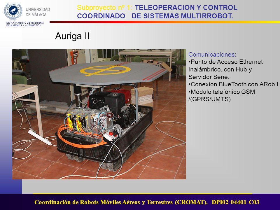 Auriga II Comunicaciones: Punto de Acceso Ethernet