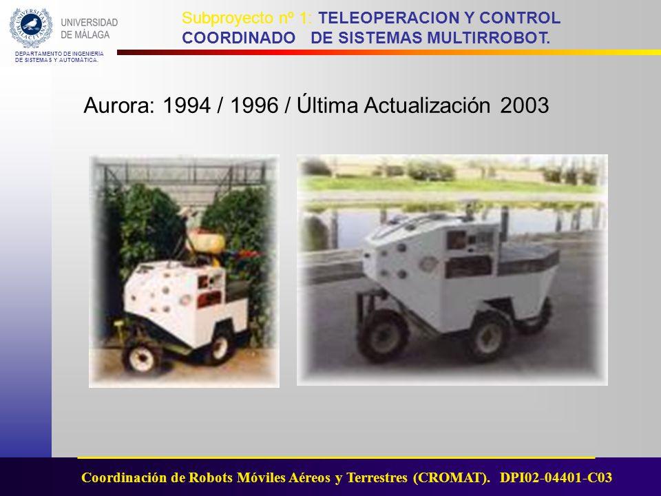 Aurora: 1994 / 1996 / Última Actualización 2003