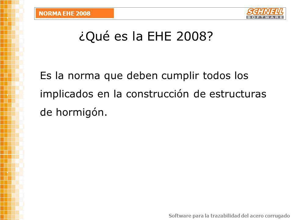 ¿Qué es la EHE 2008.