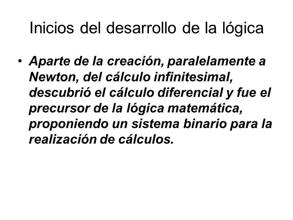Inicios del desarrollo de la lógica