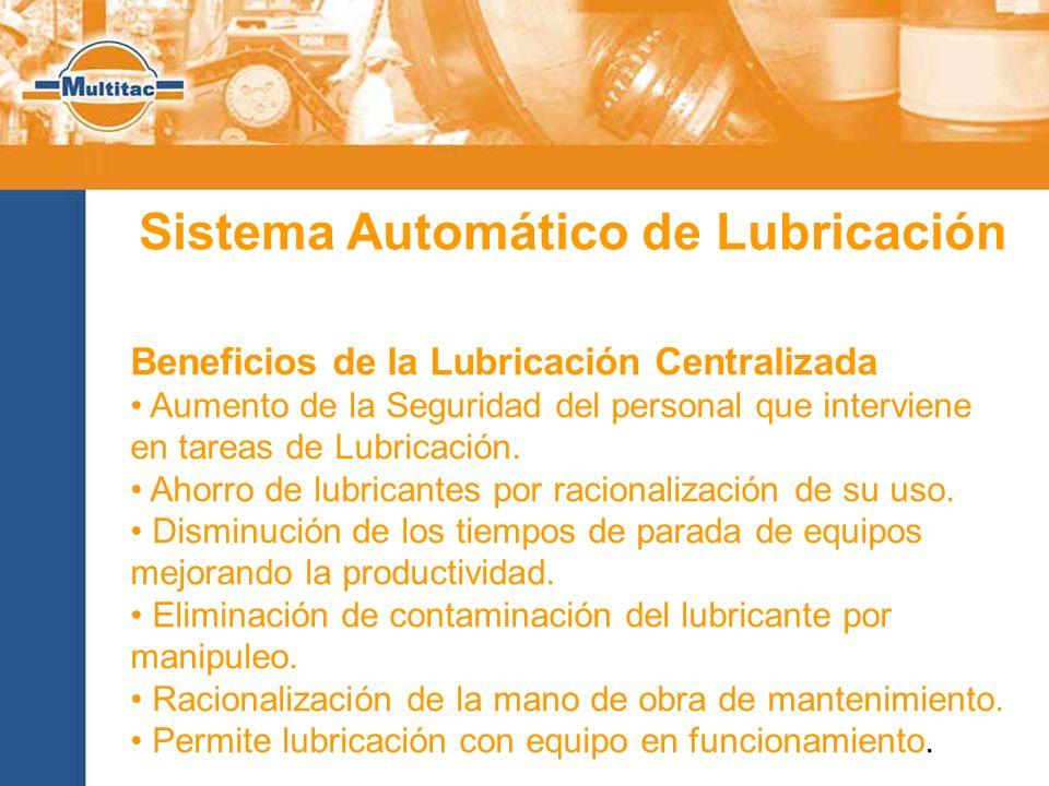 Sistema Automático de Lubricación