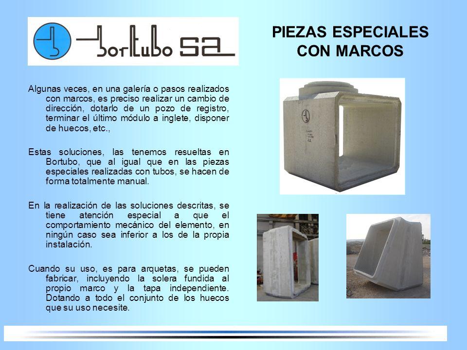 PIEZAS ESPECIALES CON MARCOS