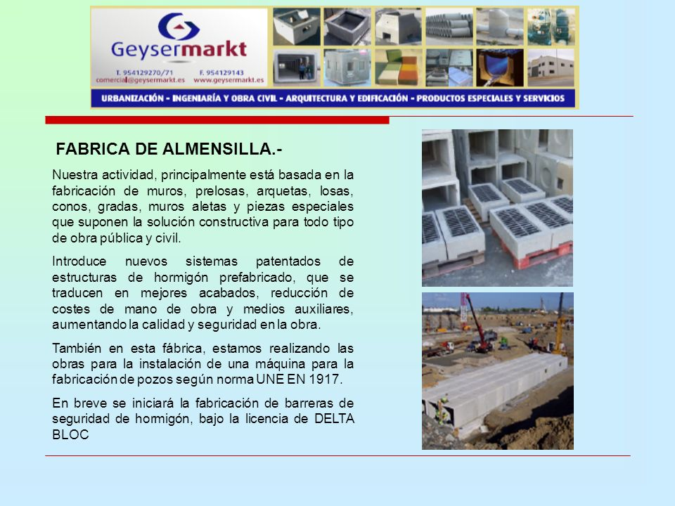 FABRICA DE ALMENSILLA.-