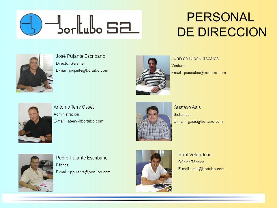 PERSONAL DE DIRECCION José Pujante Escribano Juan de Dios Cascales
