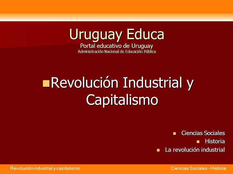 Revolución Industrial y Capitalismo