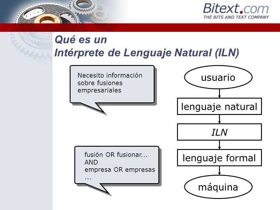 Qué es un Intérprete de Lenguaje Natural (ILN)