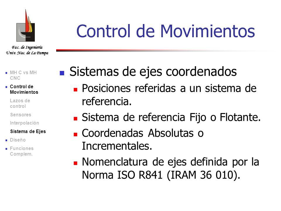 Control de Movimientos