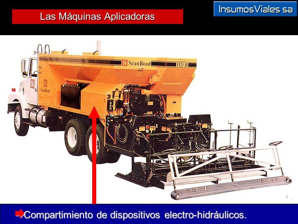 Compartimiento de dispositivos electro-hidráulicos.