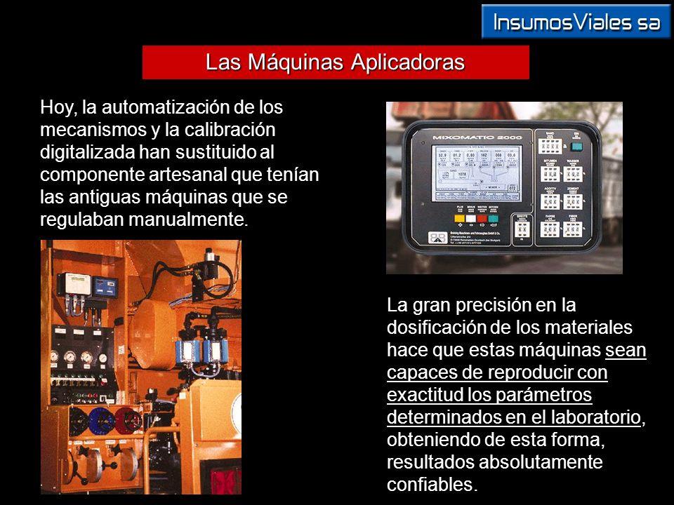 Las Máquinas Aplicadoras