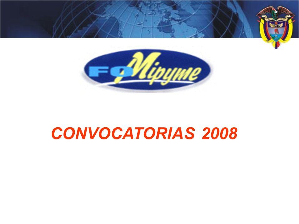 CONVOCATORIAS 2008