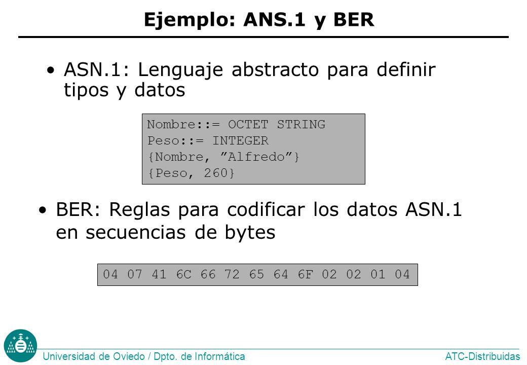 ASN.1: Lenguaje abstracto para definir tipos y datos