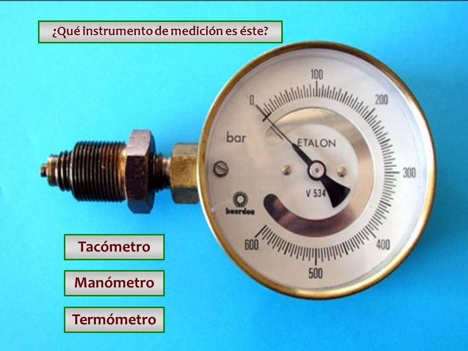 ¿Qué instrumento de medición es éste