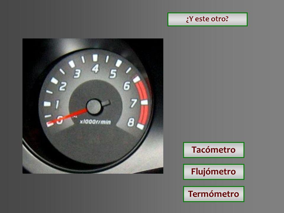 Tacómetro Flujómetro Termómetro