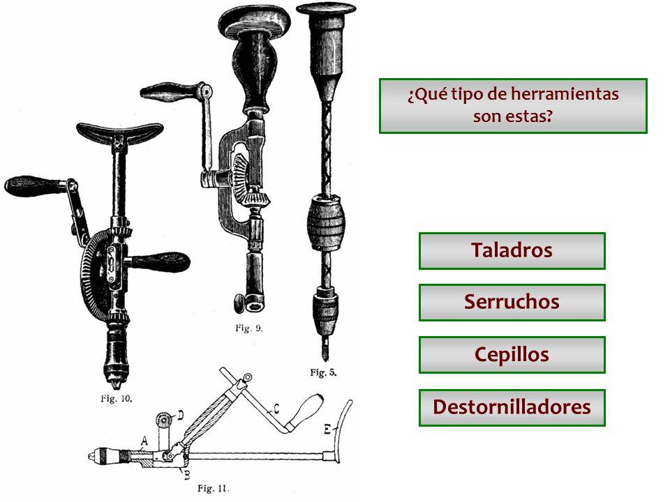 ¿Qué tipo de herramientas son estas