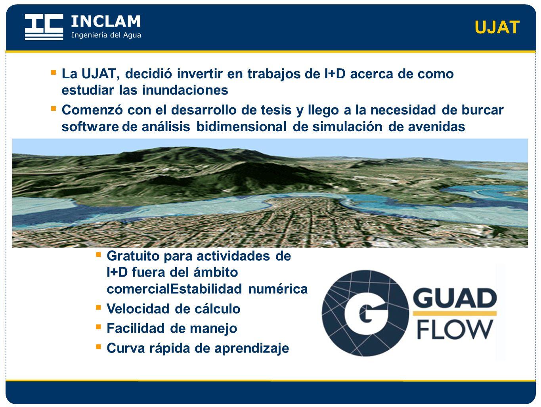 UJATLa UJAT, decidió invertir en trabajos de I+D acerca de como estudiar las inundaciones.