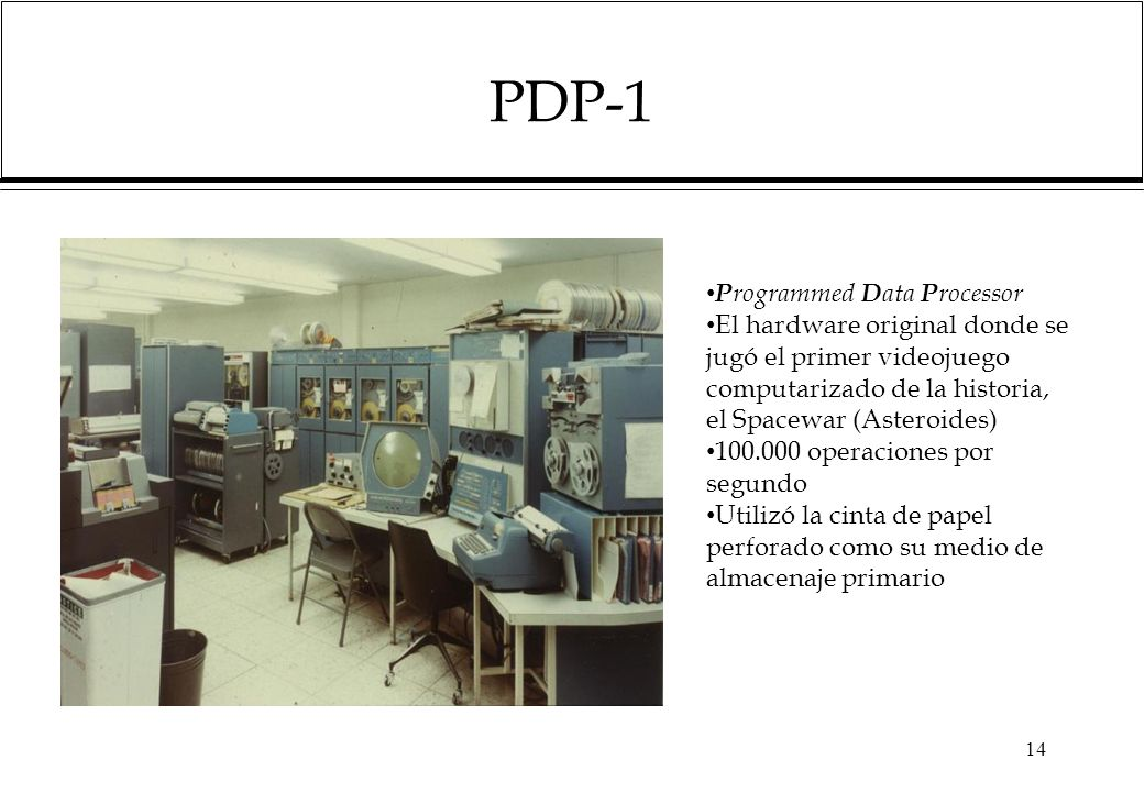 PDP-1 Programmed Data Processor
