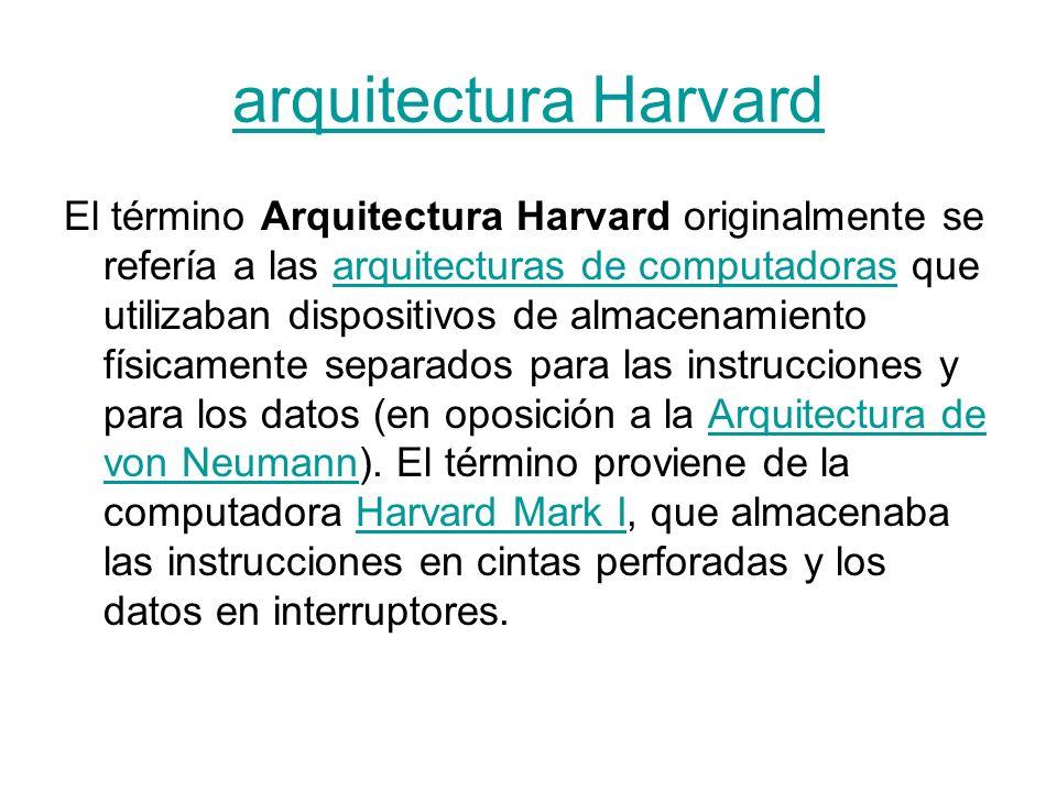 Arquitectura del computador ppt video online descargar for Arquitectura harvard