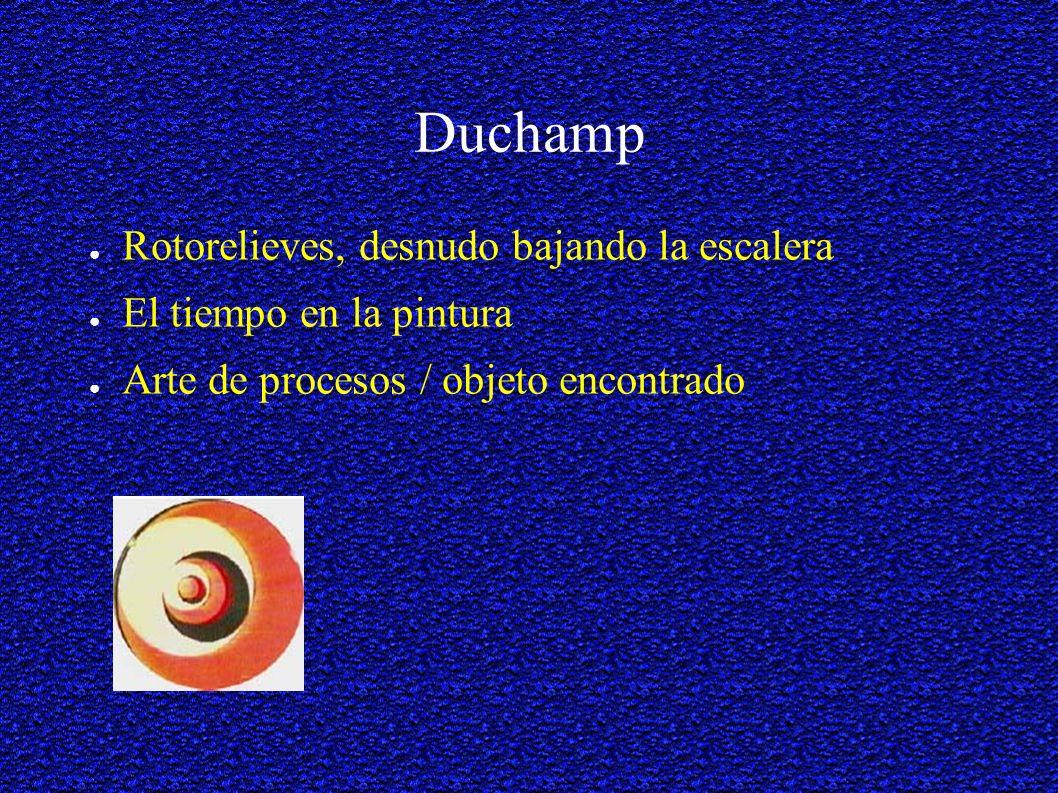 Duchamp Rotorelieves, desnudo bajando la escalera