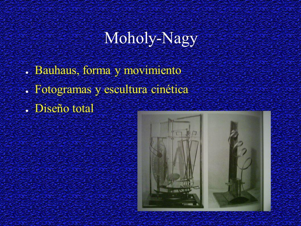 Moholy-Nagy Bauhaus, forma y movimiento