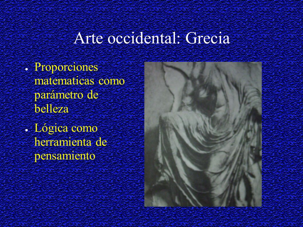 Arte occidental: Grecia
