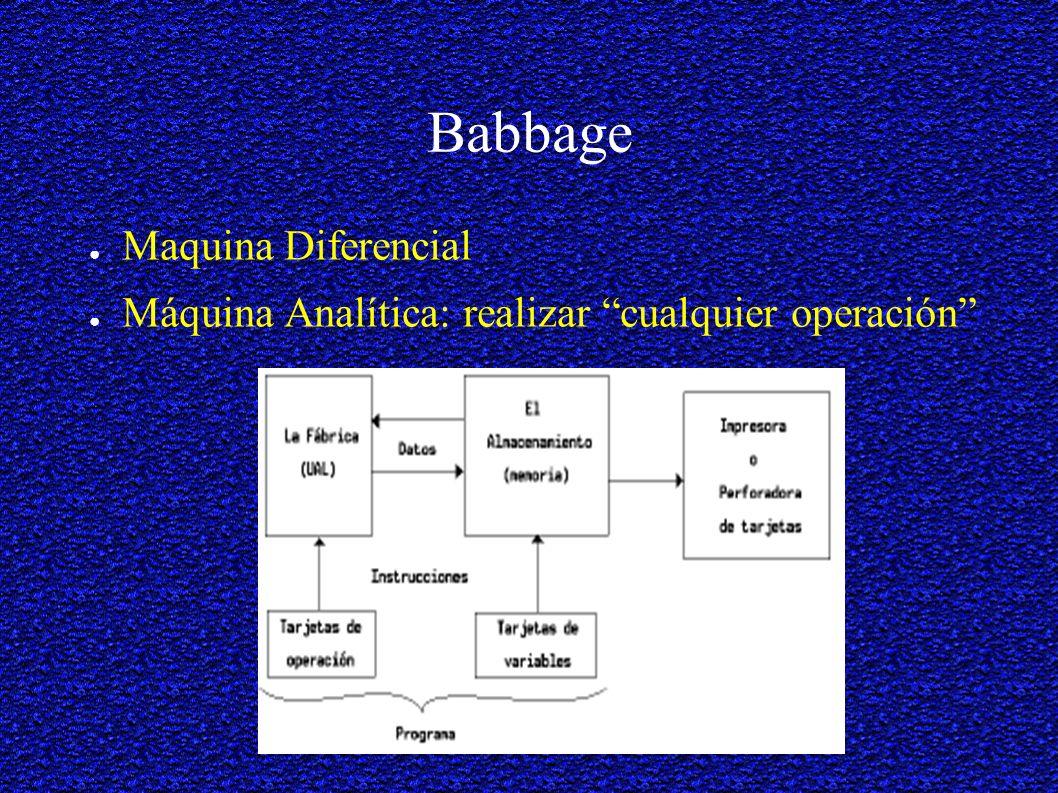 Babbage Maquina Diferencial