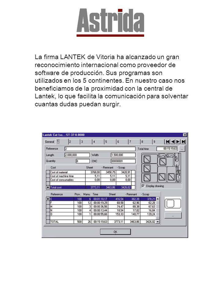 La firma LANTEK de Vitoria ha alcanzado un gran reconocimiento internacional como proveedor de software de producción.