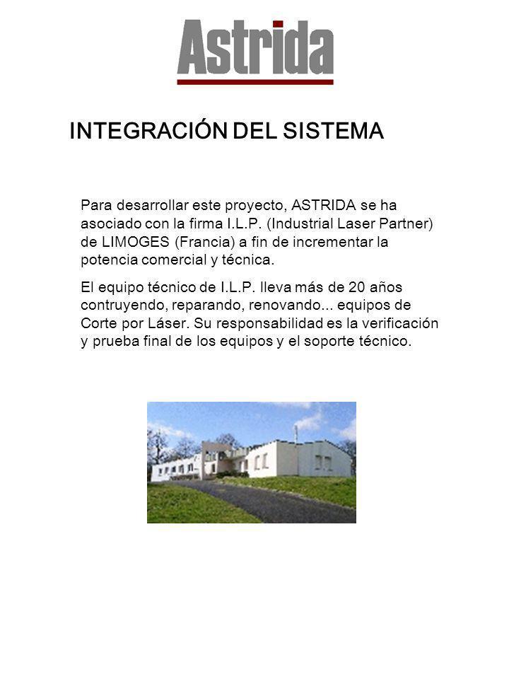 INTEGRACIÓN DEL SISTEMA