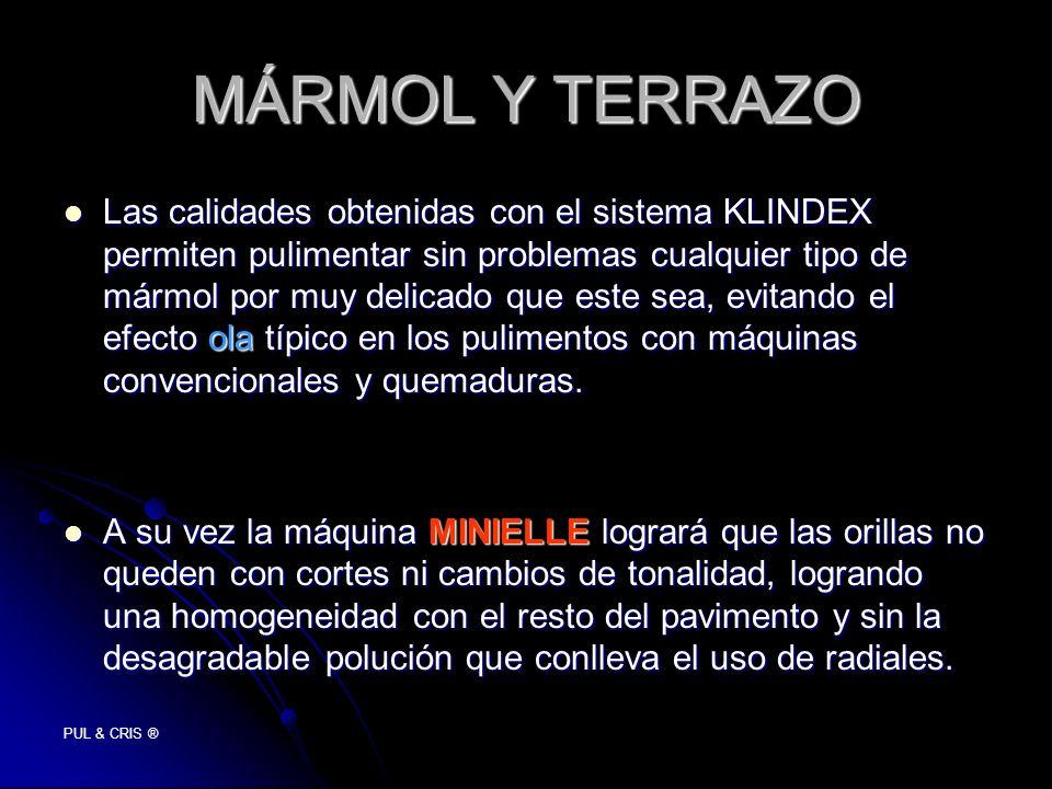 MÁRMOL Y TERRAZO