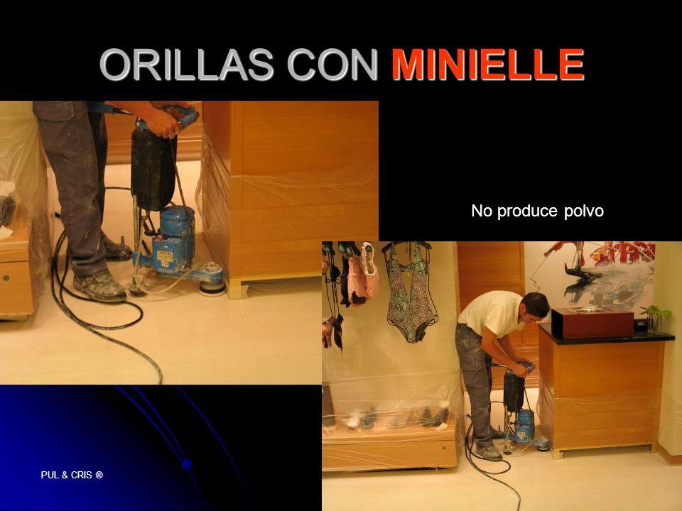 ORILLAS CON MINIELLE No produce polvo PUL & CRIS ®