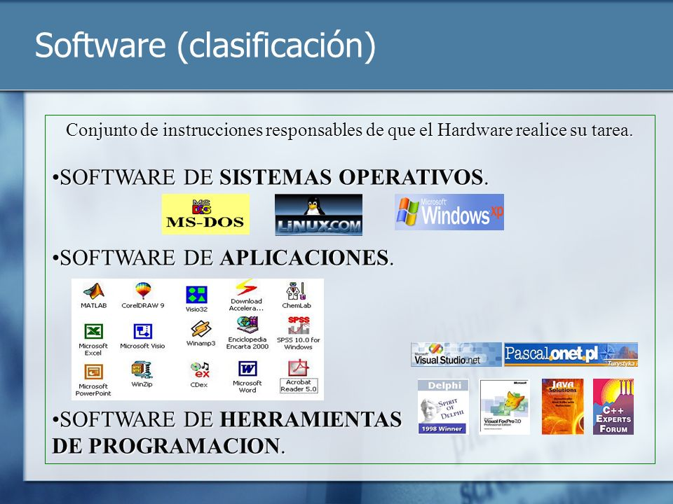 Software (clasificación)