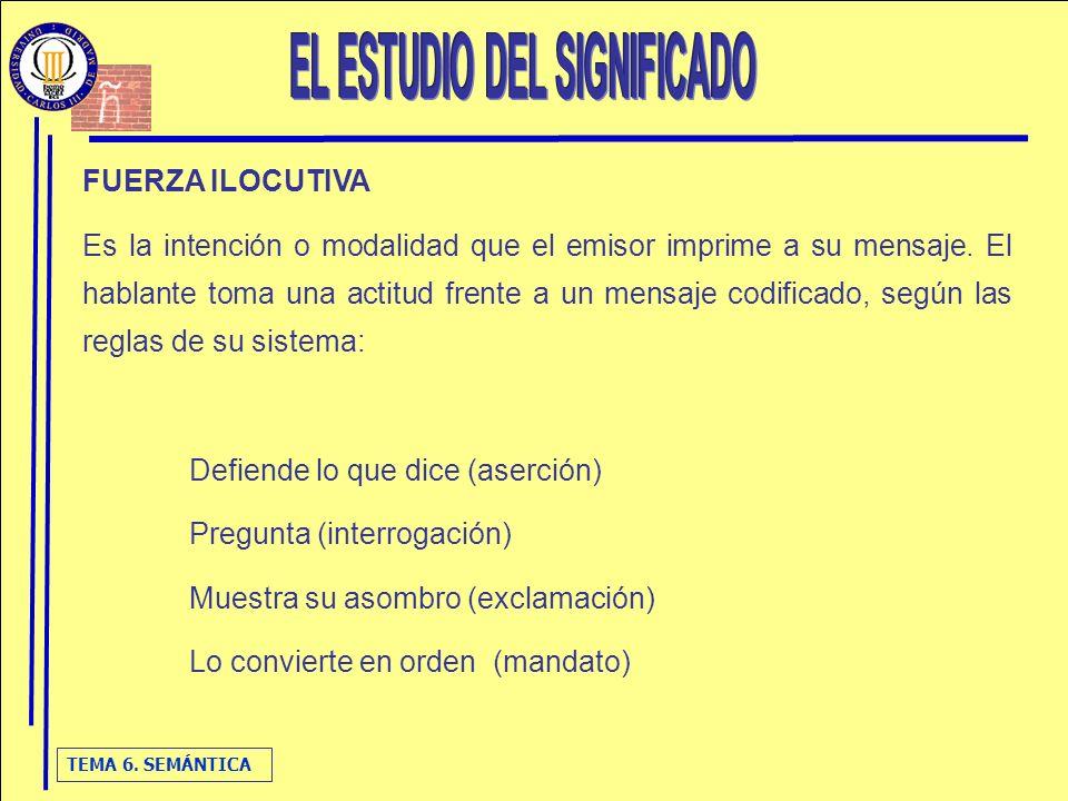 EL ESTUDIO DEL SIGNIFICADO