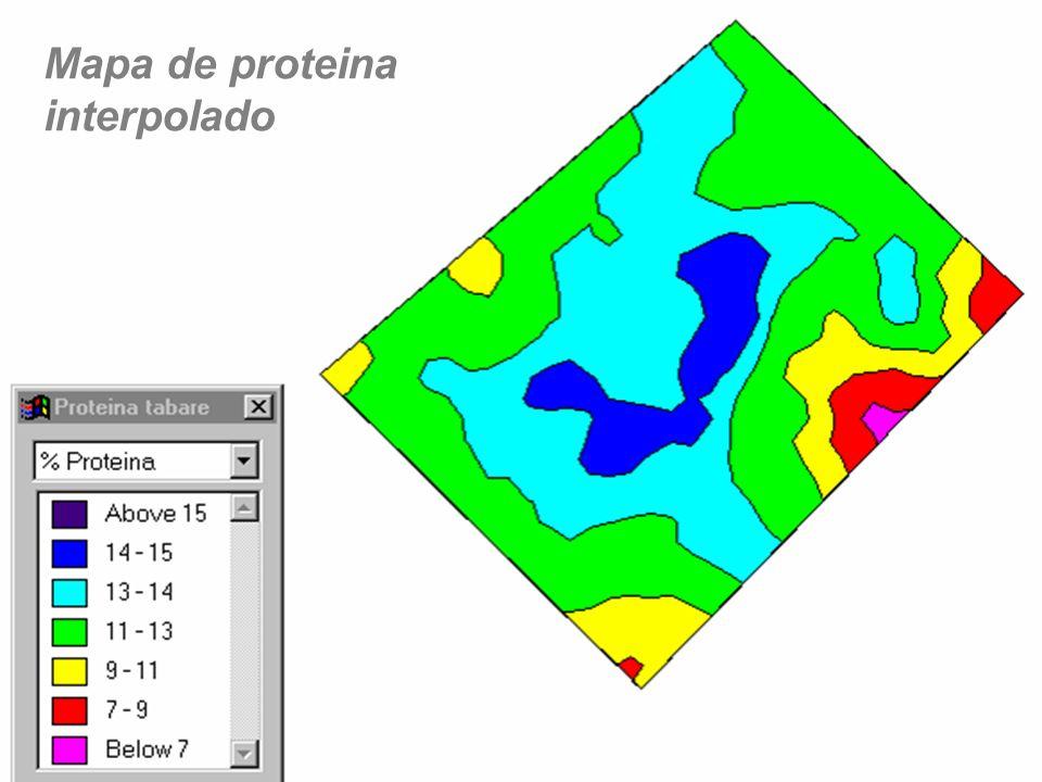 Mapa de proteina interpolado