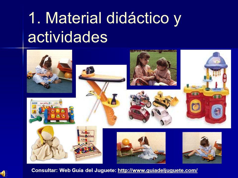 1. Material didáctico y actividades