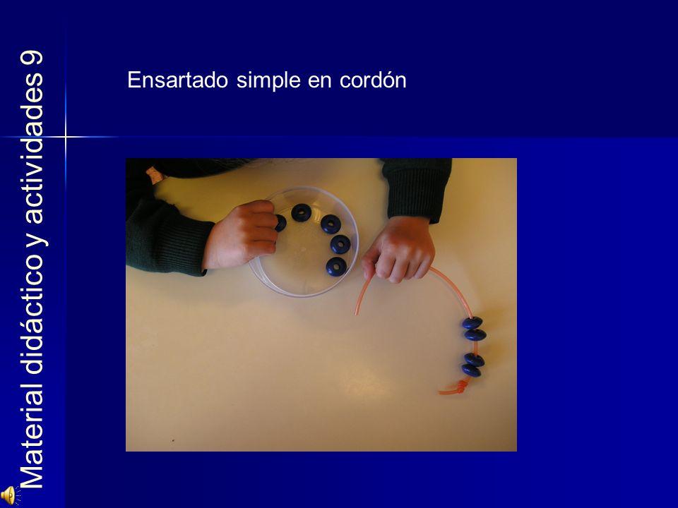 Material didáctico y actividades 9
