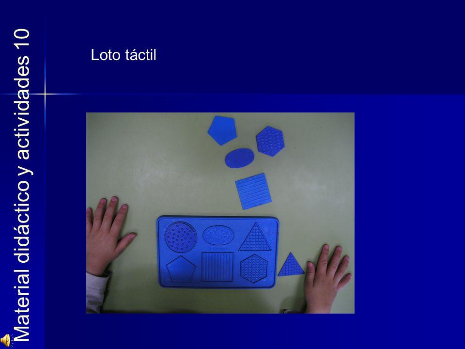 Material didáctico y actividades 10