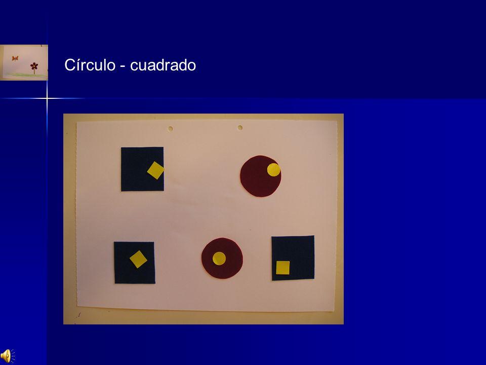 Círculo - cuadrado