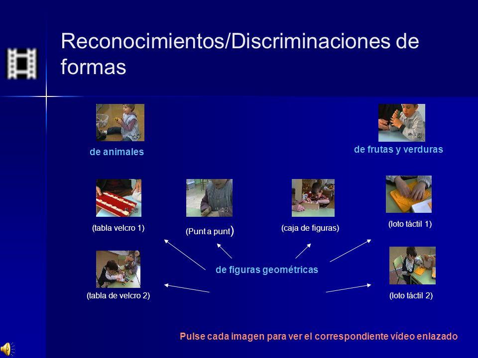 Reconocimientos/Discriminaciones de formas