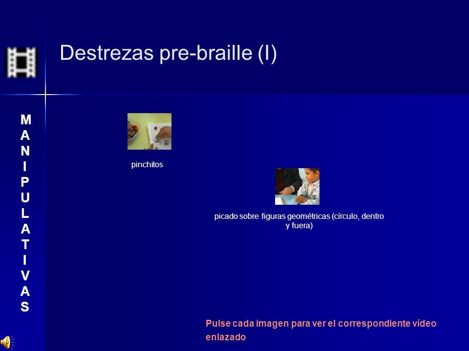 Destrezas pre-braille (I)