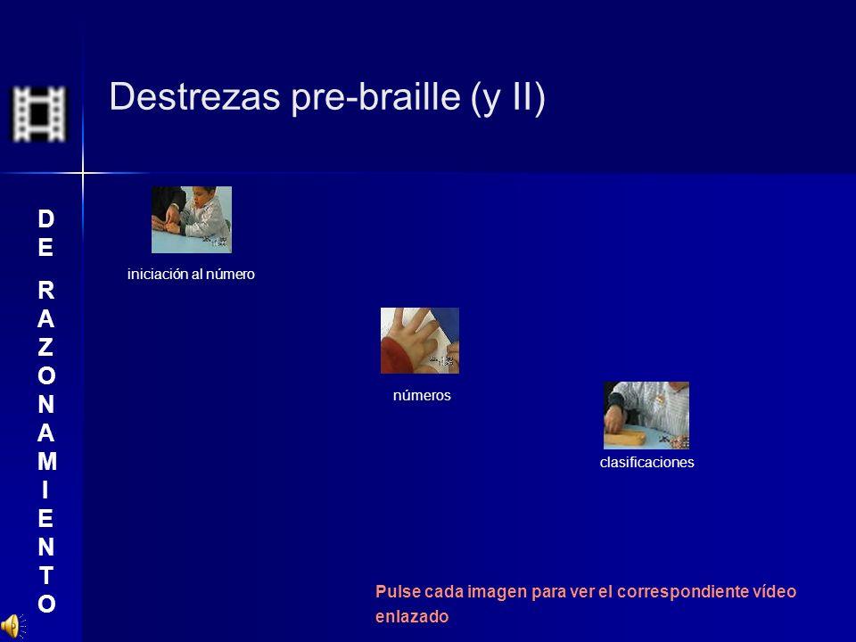Destrezas pre-braille (y II)