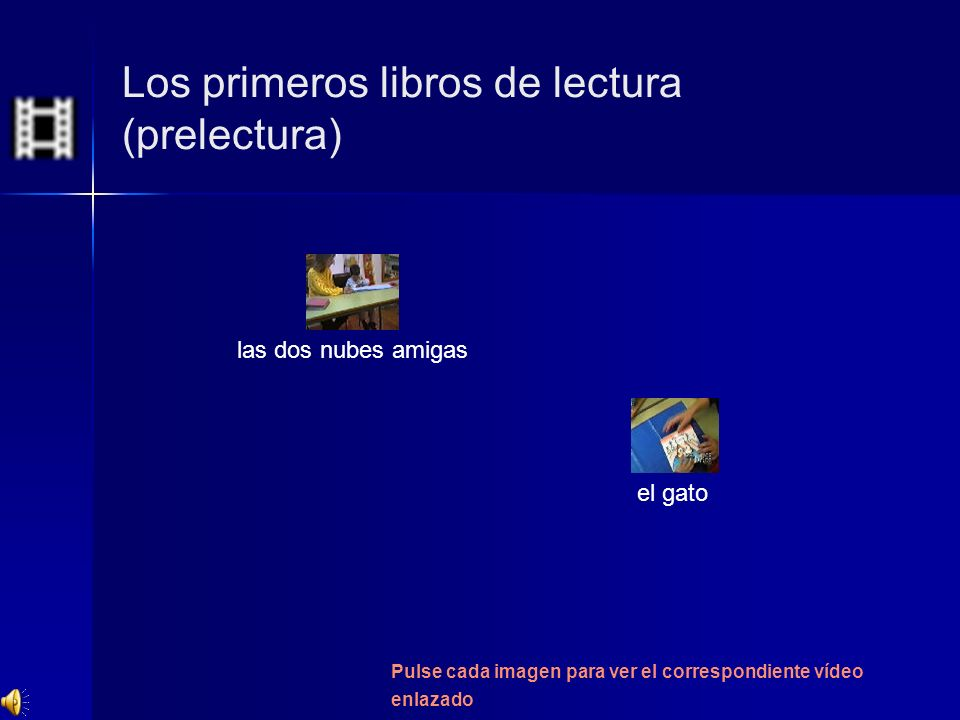 Los primeros libros de lectura (prelectura)