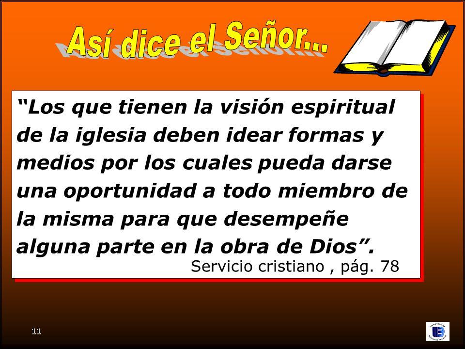 Así dice el Señor... Servicio cristiano , pág. 78