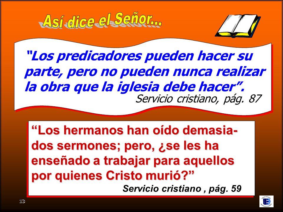 Así dice el Señor... Los predicadores pueden hacer su