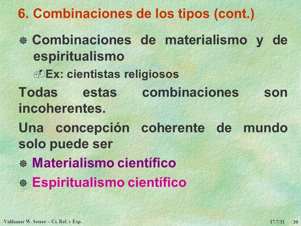 6. Combinaciones de los tipos (cont.)