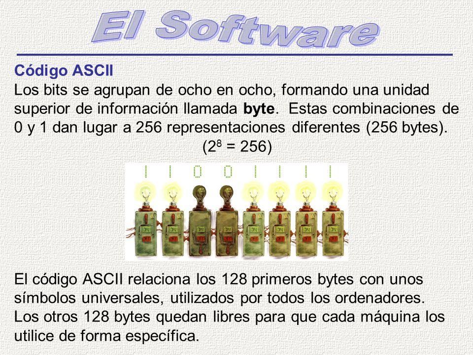 El Software Código ASCII