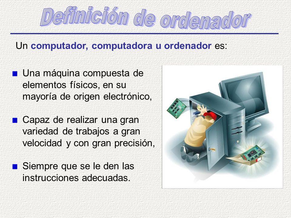 Definición de ordenador
