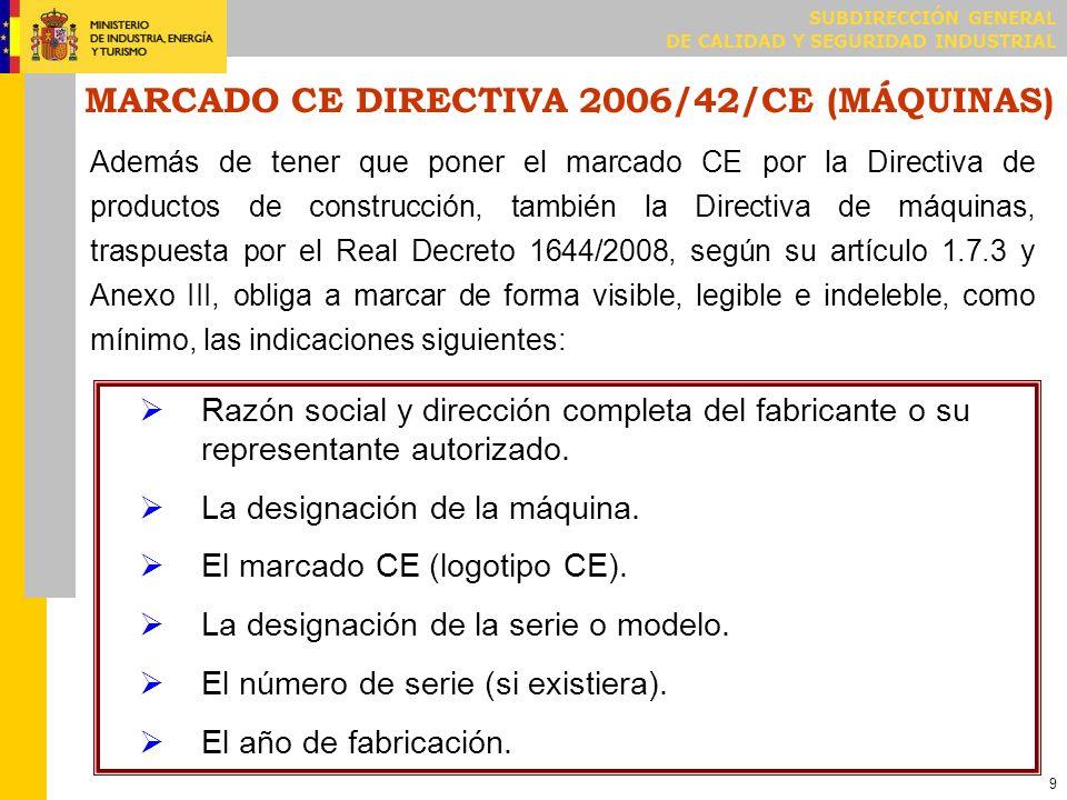 EJEMPLO DE DECLARACIÓN CE DE CONFORMIDAD (productos en serie)