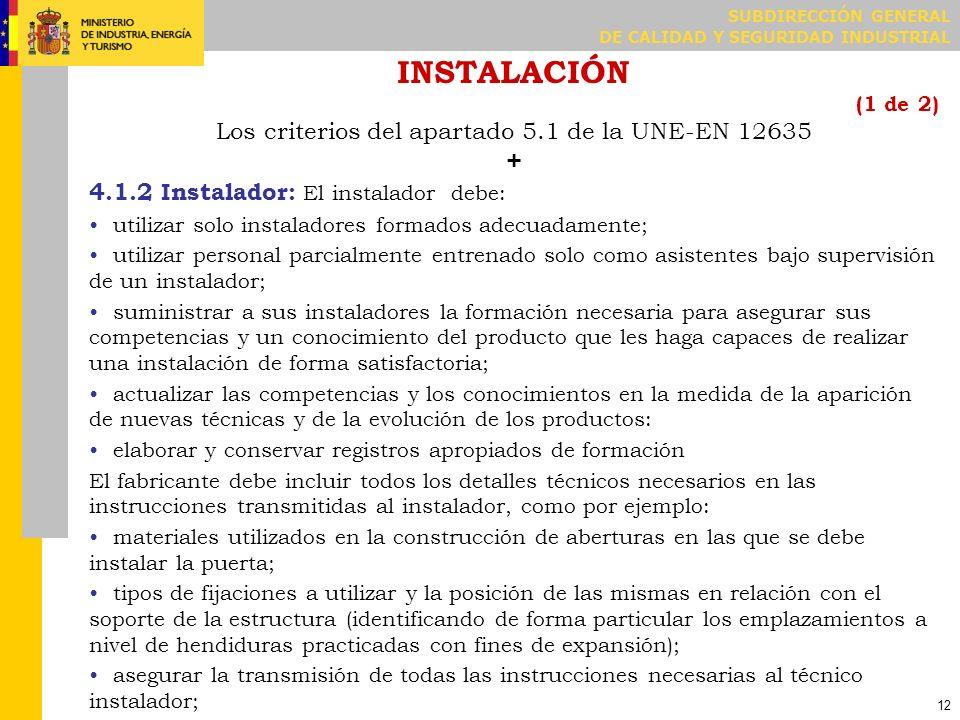 INSTALACIÓN (2 de 2)