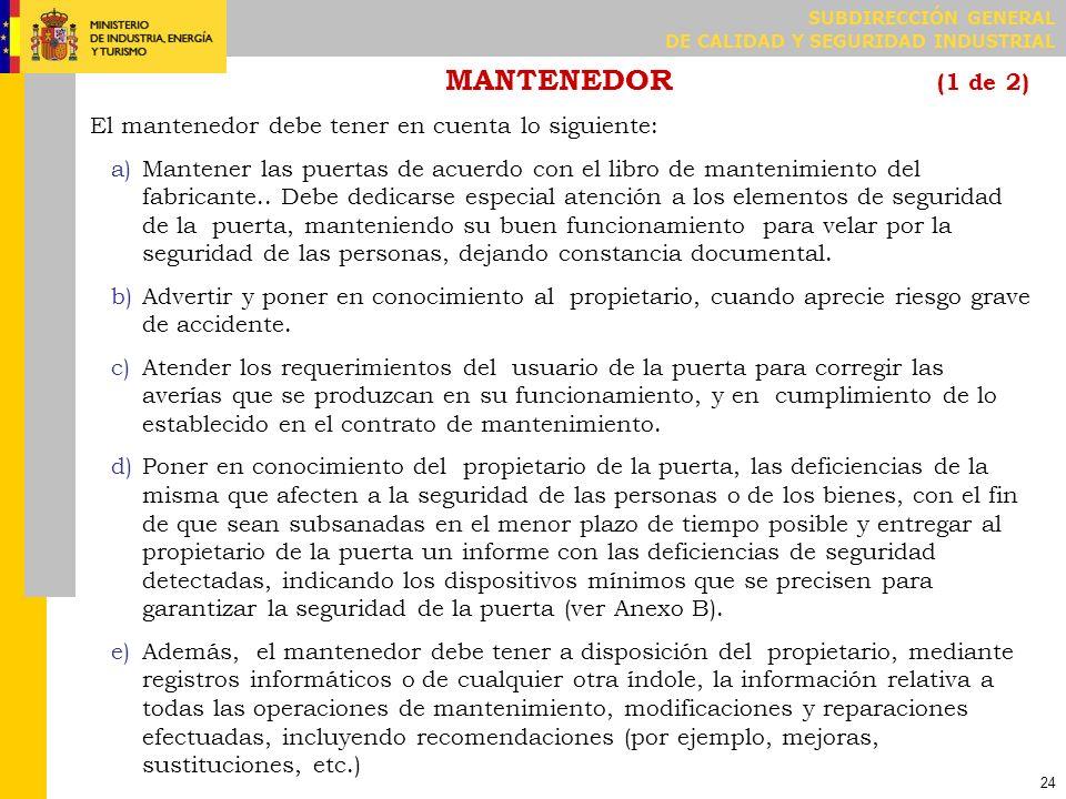 MANTENEDOR (2 de 2)