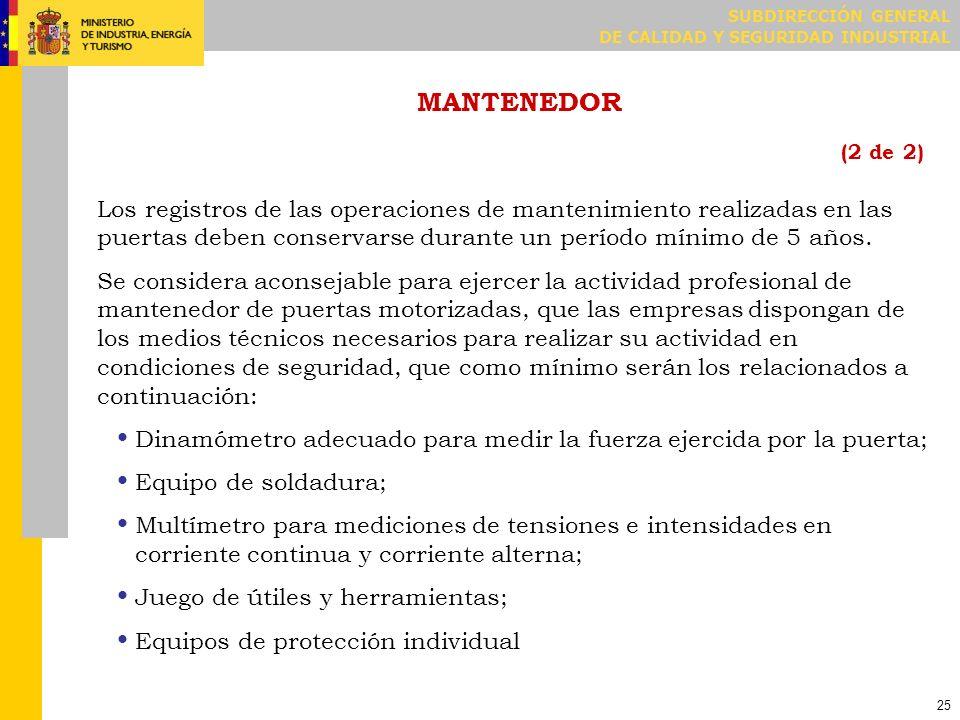MODIFICACIONES DE PUERTAS YA INSTALADAS (1 de 3)